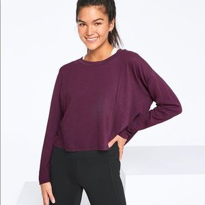 Victoria's Secret PINK Long Sleeve Cropped Tee